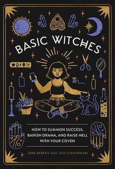 """Promising review: """"I really liked this book and I love the artist as well. I enjoyed it very much. A book to lay back and relax and read. Not your typical witchcraft book, but that's also what made it feel so refreshing. A different take on being a witch. Felt uplifting. Left me hopeful"""" —Jenn JonesGet it from Amazon for $10.99+, Barnes & Noble for $9.10+, or a local bookseller through IndieBound here. #relaxationideas"""