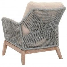 Candelabra Home Loom Club Chair - Platinum