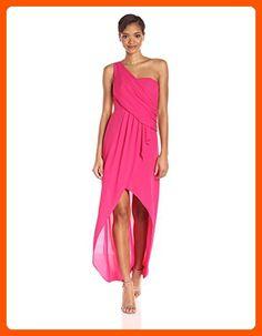 BCBGMax Azria Women's Kail Woven Evening Gown, Azalea, 2 - All about women (*Amazon Partner-Link)