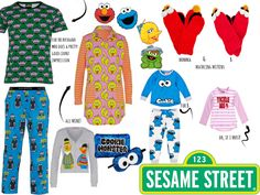 jaye by day: j style//sesame street meets peter alexander