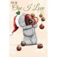 One I Love Me to You Bear Christmas Card  £2.49