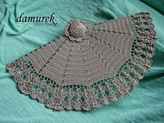 Crochet fan ♥LCF♥ with diagram