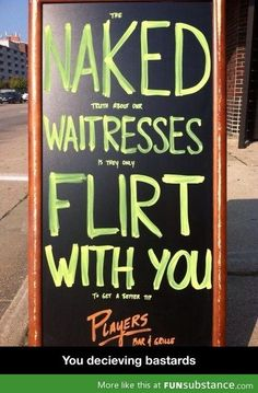 Best restaurant sign ever.