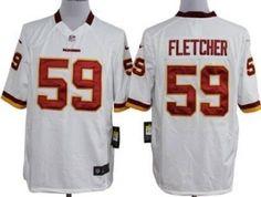 http://www.nfljerseyssale.us/  NFL Washington Red Skins Mens Jerseys #Cheap #Nike #Washington #Red #Skins #59 #Fletcher #White #Elite #Jersey #Fashion #Sports #High #Quality#Online #Wholesale