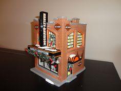 Harley-Davidson Home Decor Catalog | Home > Products > Department 56 Harley Davidson Snow Village
