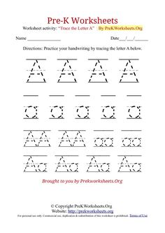 Letter Recognition Preschool Worksheets  Mommy Inspiration