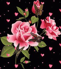 GIFS HERMOSOS: flores encontradas en la wen