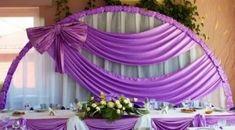 Wedding arch drapery curtains 53 Ideas for 2020 Wedding Hall Decorations, Diy Wedding Backdrop, Backdrop Decorations, Balloon Decorations, Rustic Wedding Cake Toppers, Bridal Table, Backdrop Design, Wedding Stage, Arch Wedding