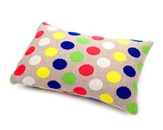 Dotty cushion - Acid – Feather The Nest