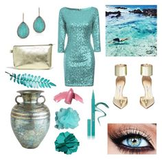 """""""A teal tale"""" by courtneycrave on Polyvore"""