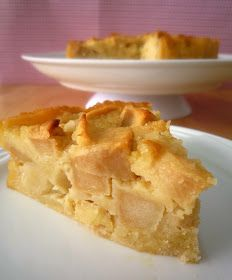 Food Wanderings in Asia: French Apple Cake {It's Beginning To Look A Lot Like Christmas} Apple Cake Recipes, Apple Desserts, No Bake Desserts, Just Desserts, Baking Recipes, Dessert Recipes, Apple Cakes, Baking Ideas, French Apple Cake