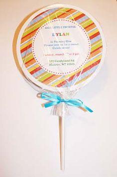How to make a lollipop invite