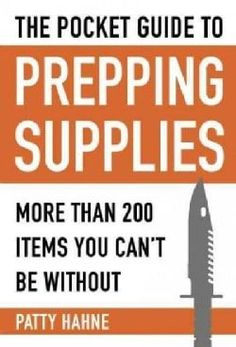 Pocket Guide to Prepping Supplies: More Than 200 Items You Can't Be Without (Survival Water Filter Cleanses) Survival Supplies, Survival Food, Outdoor Survival, Survival Prepping, Emergency Preparedness, Survival Skills, Survival Stuff, Urban Survival, Survival Videos