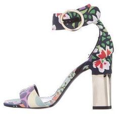 1b11b61fee54 Roger Vivier 2017 Garden Collage Podium Sandals  rogerviviersandals