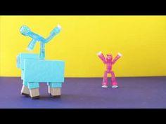 Stikbot vs Minecraft Sheep #stikbot #minecraft - YouTube
