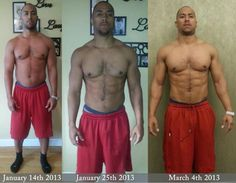 Former professional indoor football player Aaron H. is totally dominating his IsaBody Challenge! #isagenix