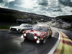 Mercedes 300 SEL 6.8 AMG / 450 SLC AMG