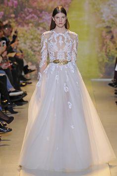Zuhair Murad Couture Spring 2014 - Slideshow - Runway, Fashion Week, Fashion Shows, Reviews and Fashion Images - WWD.com