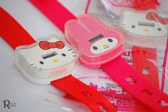 Sanrio's Anniversary Watch from McDonald's Happy Meal Hama Beads Minecraft, Minecraft Pixel Art, Minecraft Skins, Minecraft Buildings, Perler Beads, Hello Kitty Jewelry, Mcdonalds Toys, Disney Rooms, Hello Kitty Collection