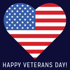 Thank you to all who have served. Happy Veterans Day!