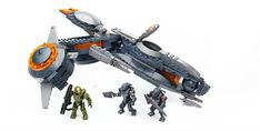 Mega Bloks Halo Phaeton Gunship -- Check out the image by visiting the link. (This is an affiliate link) Halo 5, Lego Birthday Party, Halo Setting, Building Toys, Legos, Two By Two, Vehicles, Ebay, Cant Wait