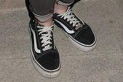Kristen Stewart Leather Sneakers