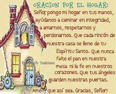 Oracion por el hogar