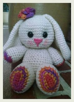 Ravelry: Amigurumi Adorable Bunny pattern by Angela Levell