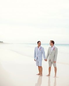 "The GAY Wedding Planner APP for your phone! the ""Jamie and Kevin "" in our A Coral-Colored Beach Wedding in the Bahamas gallery Lesbian Wedding, Wedding Pictures, Wedding Ideas, Wedding Planning, Wedding Inspiration, Wedding Tux, Wedding Vintage, Wedding Attire, Fall Wedding"