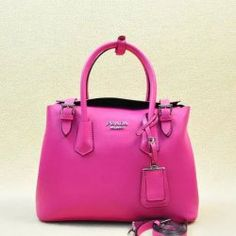2014 Latest Prada Calf Leather Tote Bag BR5071M in Rose