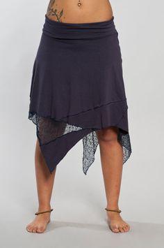 Gypsy Patch Skirt van LunaDesignn op Etsy, $55.00