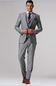 purple and silver wedding colors suit | ... -caliente-de-Customed-Plata-para-hombre-Traje-de-novia-de-color.jpg