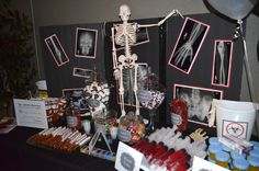 Medical Themed Candy Bar Display -