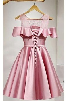 Prom Dresses Lace Homecoming Dress 2018 Pink Prom Dresses Short Homecoming Dress A-Line Homecoming Dress Homecoming Dresses 2018 Elegant Homecoming Dresses, Dresses Elegant, Cute Dresses For Party, Lace Party Dresses, A Line Prom Dresses, Short Bridesmaid Dresses, Short Dresses, Dress Party, Maxi Dresses
