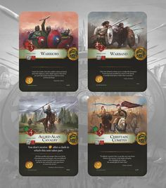 Germania Magna: Border in Flames Game Card Design, Board Game Design, Layout Design, Card Ui, Choices Game, Game Gui, Game Concept Art, Card Games, Game Cards