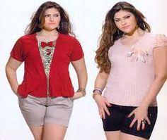 Resultado de imagem para moda feminina PLUS SIZE Moda Feminina Plus Size, Sweaters, Fashion, Women's, Moda, Fashion Styles, Fasion, Sweater