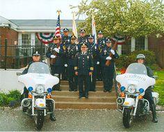 Police honor guard 2002.