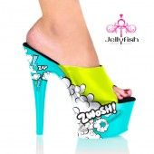 Zwosh Comic Book Heels.  I would never be able to walk in these, but they are cute.