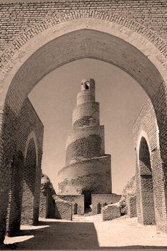 Great Mosque of Samarra, 9th Century, Iraq