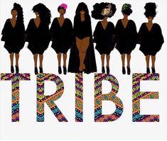 Tribe and Vibe ✊🏾 Source by BlackSoleHeelingLLC idea black girl