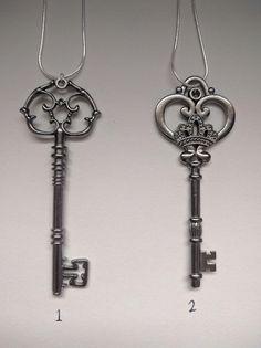 Large Skeleton Key Necklace Skeleton Key Necklace, Key Pendant, Candle Sconces, Wall Lights, Appliques, Candle Wall Sconces, Keychains, Wall Mounted Lamps, Key Necklace