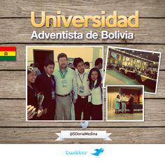 En la Universidad Adventista en Vinto, Cochabamba en el primer Congreso de Empresarios Adventistas.  Recibiendo un reconocimiento del Rector de la Universidad junto a los jóvenes emprendedores.