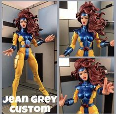 Custom Jean Grey Phoenix Jim Lee X-Men Marvel Legends | eBay