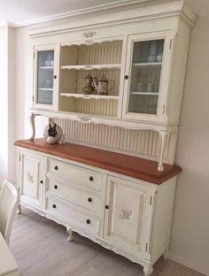 Pintar muebles de pino en blanco hacer bricolaje es - Muebles pino para pintar ...