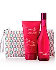 Presente Natura Humor 5 - Desodorante Colônia + Desodorante Hidratante Corporal + Necessaire + Embalagem Acesse: http://rede.natura.net/espaco/sillosv
