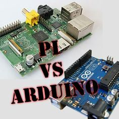 """Check out http://arduinohq.com Raspberry Pi vs Arduino. The Arduino is in fact a micro-controller; not a mini-computer. Although the Arduino can be programmed with small C-like applications, it cannot run a full scale """"operating system"""" and certainly won't be replacing your media center anytime soon. The Raspberry Pi on the other hand, is a computer. Adding the Arduino to the Raspberry Pi is a bit like adding a bicycle to an automobile."""