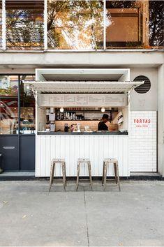 Cafe Shop Design, Kiosk Design, Bar Design, Retail Design, Truck Design, Small Cafe Design, Design Ideas, Food Design, Small Store Design