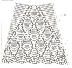Sweet Nothings Crochet: ALL PINEAPPLES SKIRT