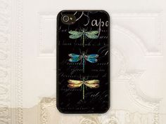 Dragonfly phone case iPhone 4 4S 5 5s 5C by LilStinkerDesign