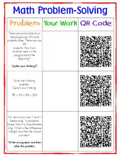 Transforming Teaching and Learning with iPads: Code Your Class with QR Codes